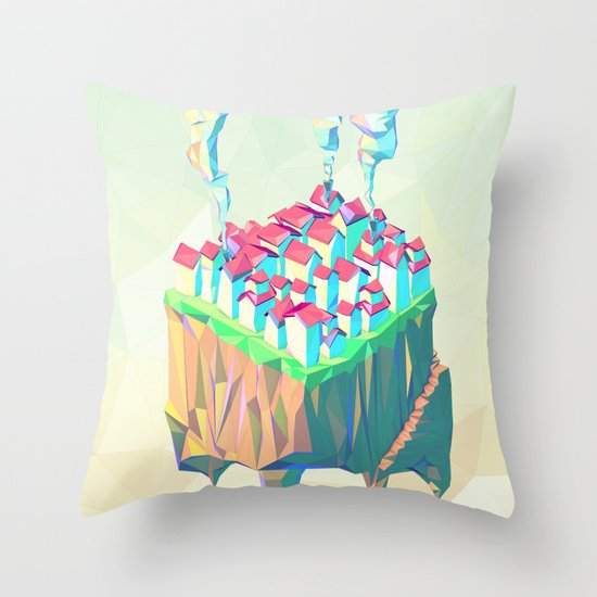 Triplex Throw Pillow