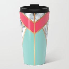 Geometry Gold 020 Travel Mug