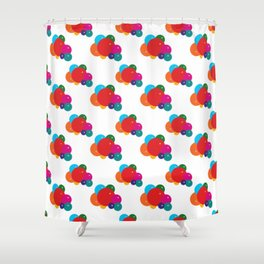 Colorful Balloons Pattern Shower Curtain