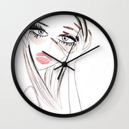 Fine! Wall Clock