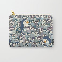 Baby Penguin Pattern Carry-All Pouch