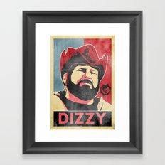 Dizzy 'Diz' Wallin Framed Art Print