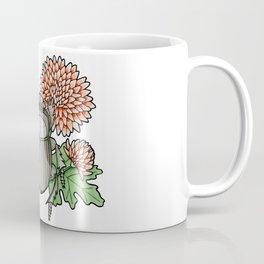 Beetle with Chrysanthemum Coffee Mug