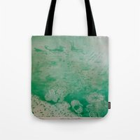 under the sea Tote Bags featuring Under The Sea by ANoelleJay
