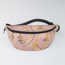 Twin Flames Mustard Fanny Pack