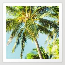 Maui Paradise Palms Art Print
