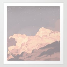 pastel(2) Art Print