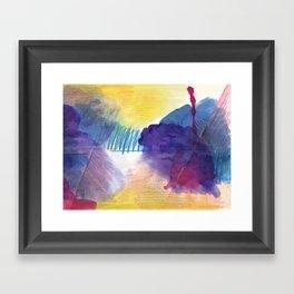 purpleone Framed Art Print