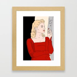 Inglourious Basterds - Shoshanna Framed Art Print