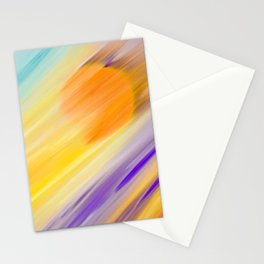 """Catch the Sun #1 – Sequel #2"" Oil Painting Stationery Cards"
