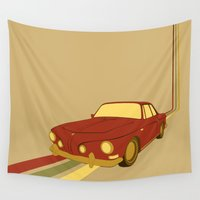 70s Wall Tapestries featuring 70s by Maestral