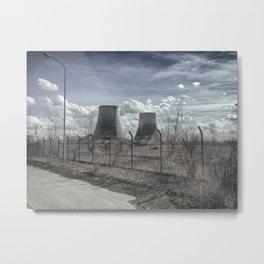 Galileo Ferraris abandoned Power Plant Metal Print