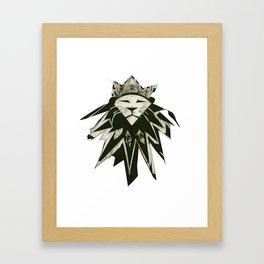 King of the Beasts Framed Art Print