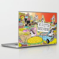 """led zeppelin Laptop & iPad Skins featuring Mr. Ed-Zeppelin - """"Horses of the Holy"""" by Steven Fiche by Consequence of Sound"""