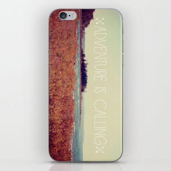 Adventure is Calling #2 iPhone & iPod Skin