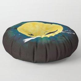 Moonstache Floor Pillow