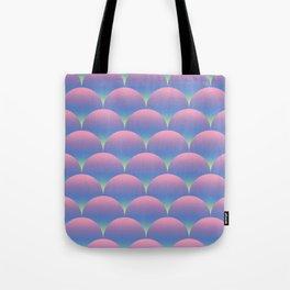 Gradient Circles Tote Bag