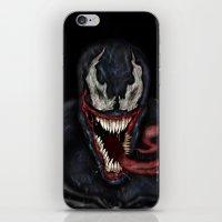 venom iPhone & iPod Skins featuring venom by Fila Venom Art