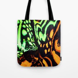 Neon animal skin Tote Bag