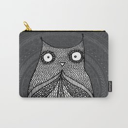 Doodle Owl Carry-All Pouch