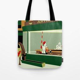 Knight Hawks Tote Bag