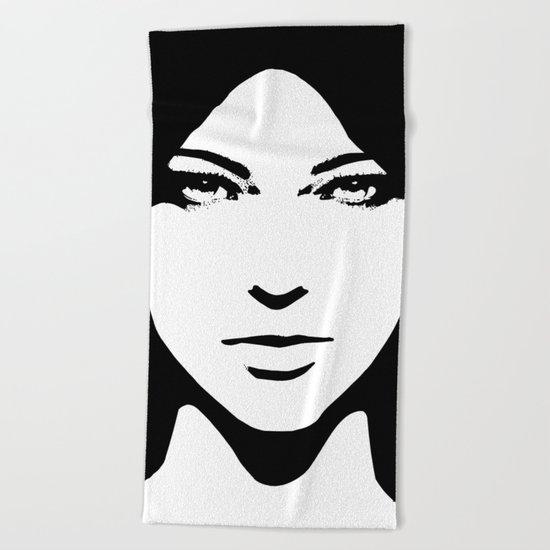 Woman Beach Towel