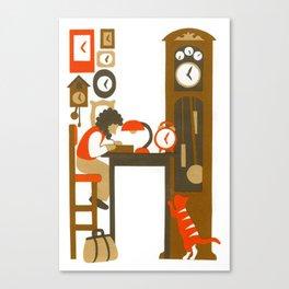 H as Horloger (Watchmaker) Canvas Print