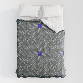 Making Waves Gray Comforters