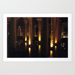 Light Underground!  Art Print