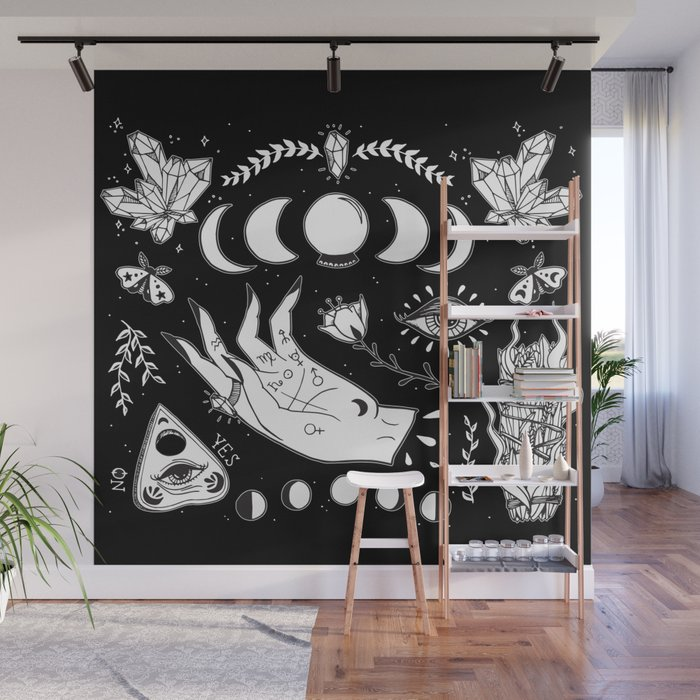 Witchcraft Art Wall Mural