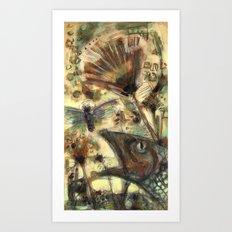 FlyFishing_2 Art Print