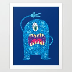 Peace Monster Art Print