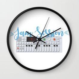 Jam Session Wall Clock