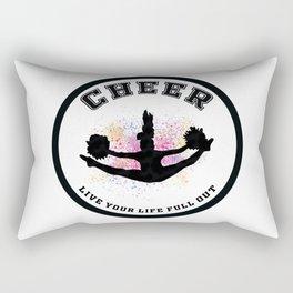 Cheer Circle Live your Life Full Out Rectangular Pillow