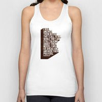 pocketfuel Tank Tops featuring ANSWERS by Pocket Fuel