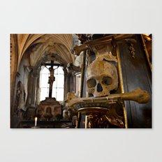 Bone Church Canvas Print