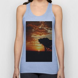 Fiery Dragon Unisex Tank Top