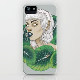 The Leaf Elf iPhone Case
