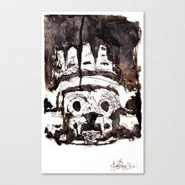 Dios Tlaloc Canvas Print