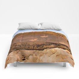 Desert Rock Art - Petroglyphs - IIa Comforters