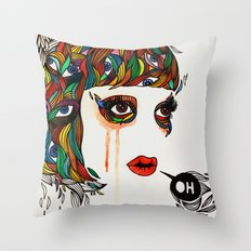 M#2 Throw Pillow