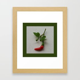 X'MAS STOCKING Framed Art Print