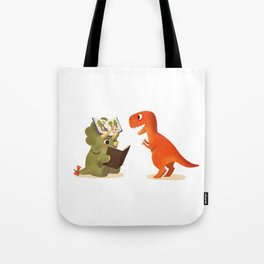 BOOK DINOSAURS 04 Tote Bag