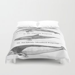 III. The Duodecimo Whale Duvet Cover