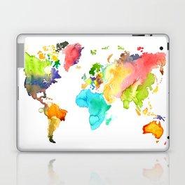 Watercolor World Laptop & iPad Skin