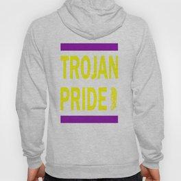Trojan Pride - Purple & Yellow Hoody