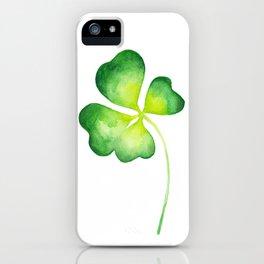 Clover iPhone Case