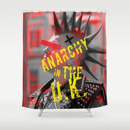 Anarchy in the U.K. Shower Curtain