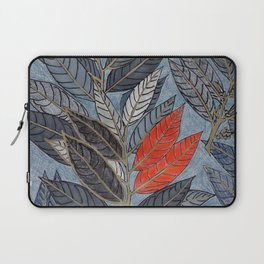 Feuilles Rouges I Laptop Sleeve