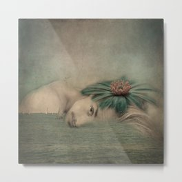 A man, the sea and a dream Metal Print